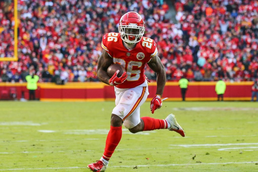 ien Williams, running back dei Kansas City Chiefs, grande protagonista del Super Bowl LIV