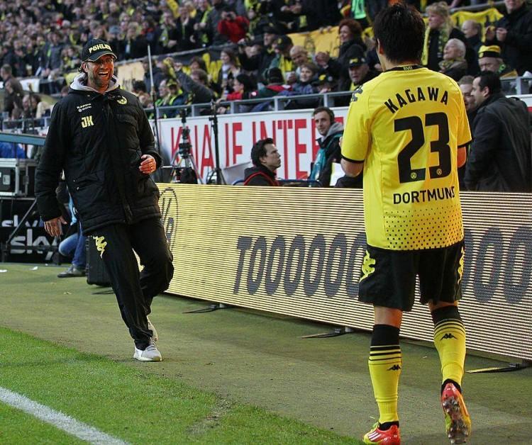 Borussia Dortmund, Shinji Kagawa e Jurgen Klopp