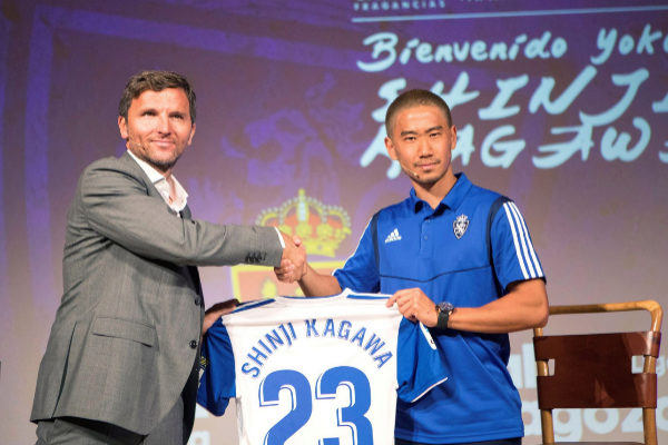 Real Saragoza, Shinji Kagawa