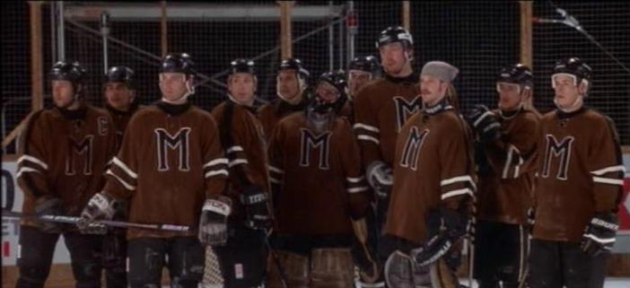 La squadra di Mistery selezionata per sfidare i professionisti dei New York Rangers.