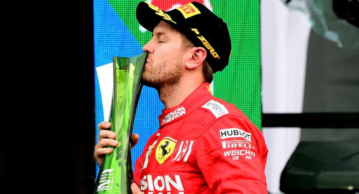 Vettel lascia la Ferrari