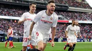 Ocampos su rigore ha siglato il 2-2 definitivo nella gara di Madrid, contro l'Atletico di Simeone.