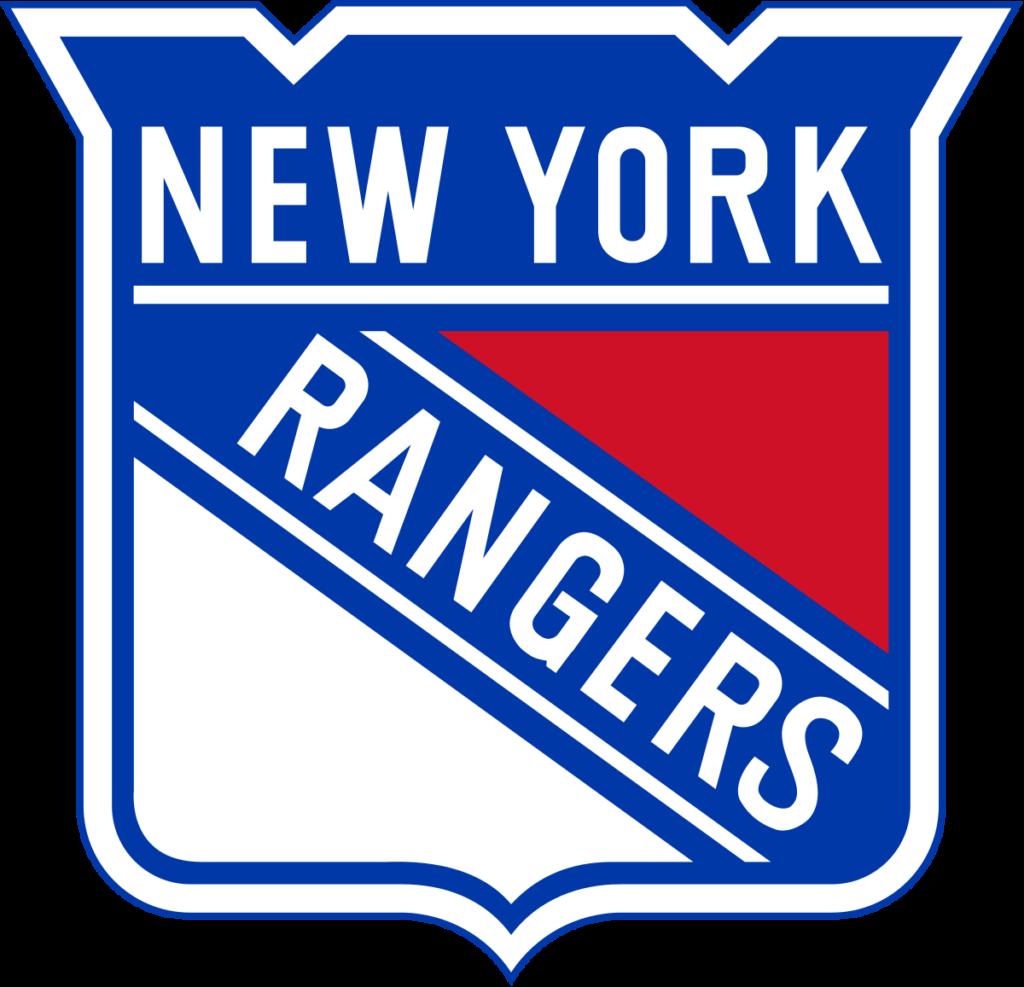 Il logo dei New York Rangers.