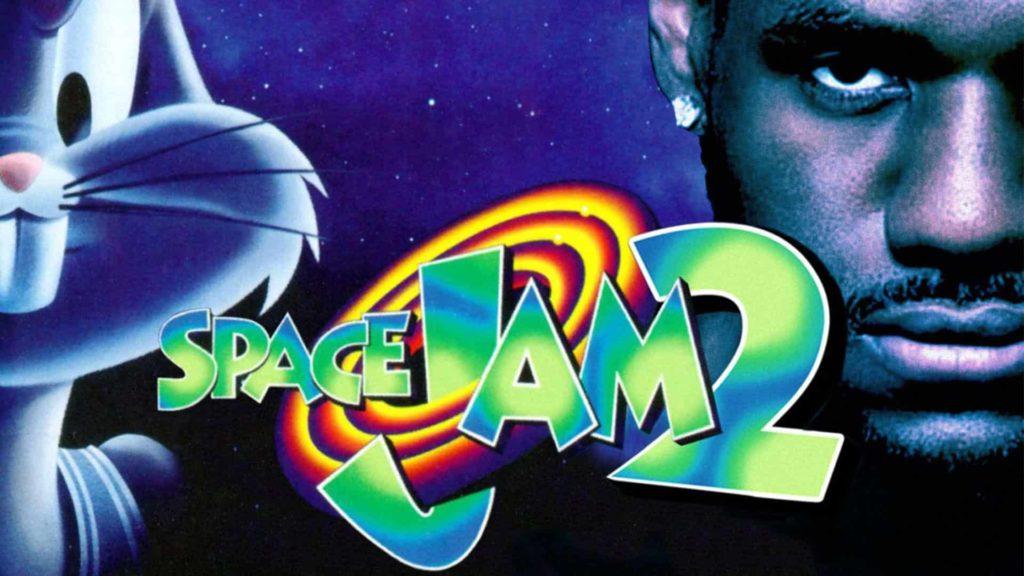 """La locandina di """"Space Jam 2"""", film che uscirà nel luglio 2021. Questa volta, al fianco dei Looney Tunes, giocherà LeBron James."""