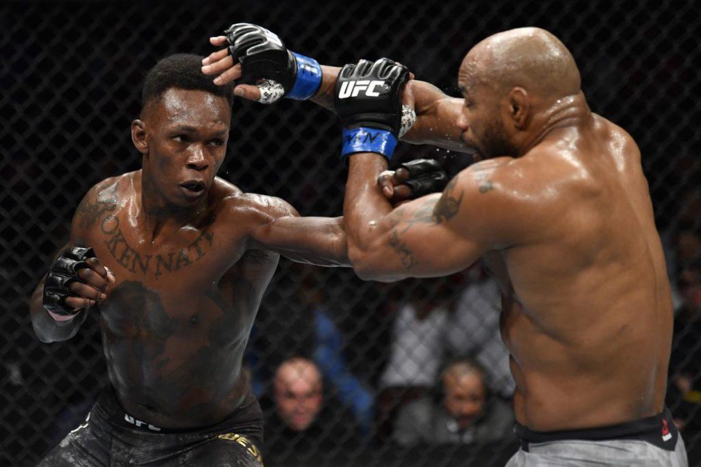 UFC 248 - Israel Adesanya