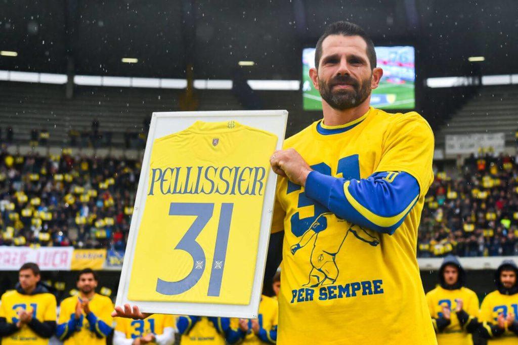 Chievo Verona, Il ritiro di Sergio Pellissier