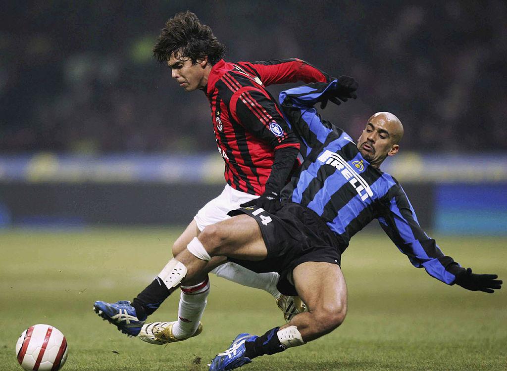 Milan, Kakà in un derby di Milano