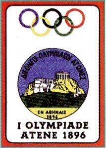 L'immagine delle prime Olimpiadi disputate ad Atene nel 1896.