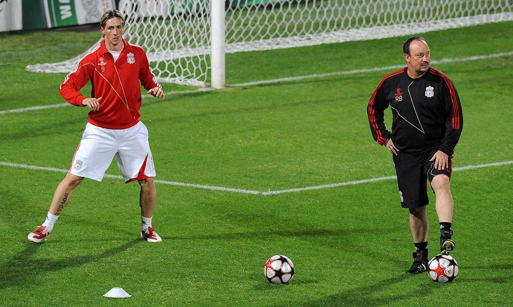 Liverpool, Fernando Torres e Rafael Benitez
