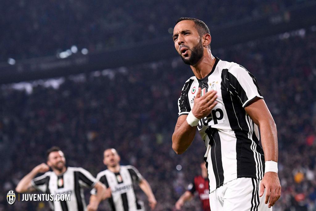 Juventus, Medhi Benatia, un'immagine tratta da Juventus.com
