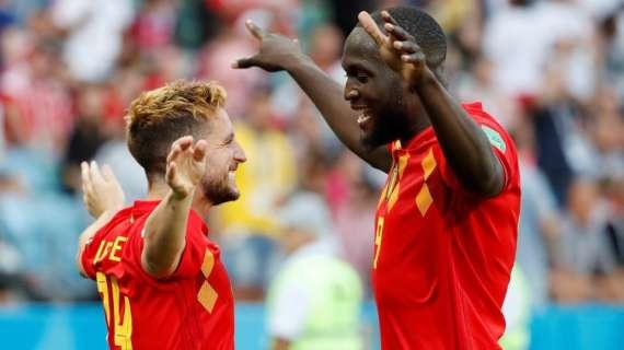 Belgio, Dries Mertens e Romelu Lukaku