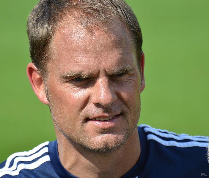 Frank de Boer da allenatore dell'Ajax