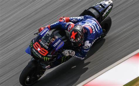 Jorge Lorenzo sulla Yamaha 2020