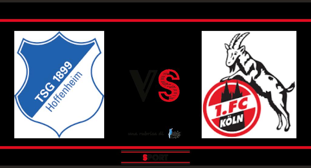 Pronostico di Hoffenheim-Colonia, 28a giornata di Bundesliga.