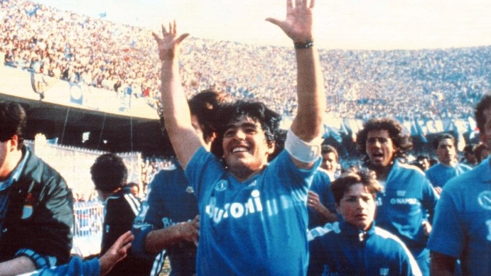 Il Napoli di Maradona il 10 maggio 1987 vince il primo scudetto della sua  storia - PeriodicoDaily Sport