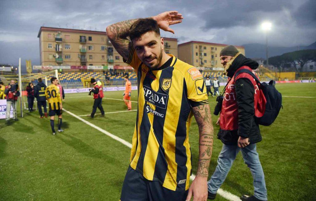 Francesco Forte, Benevento - Juve Stabia