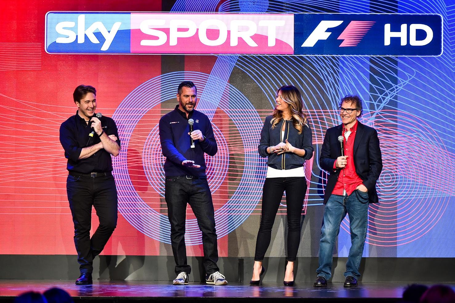Formula 1 su Sky Sport fino al 2022