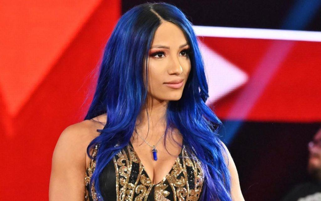 Sasha Banks la wrestler della WWE pesantemente offesa da Sam Guevara