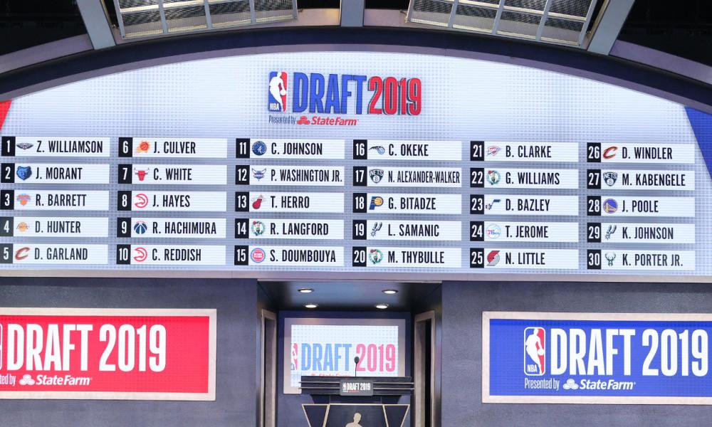 La NBA Draft del 2019