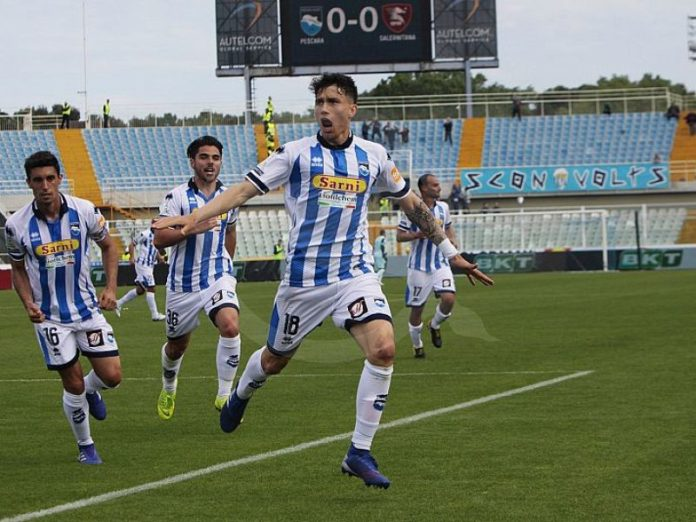 Pescara - Juve Stabia Gabriele Zappa
