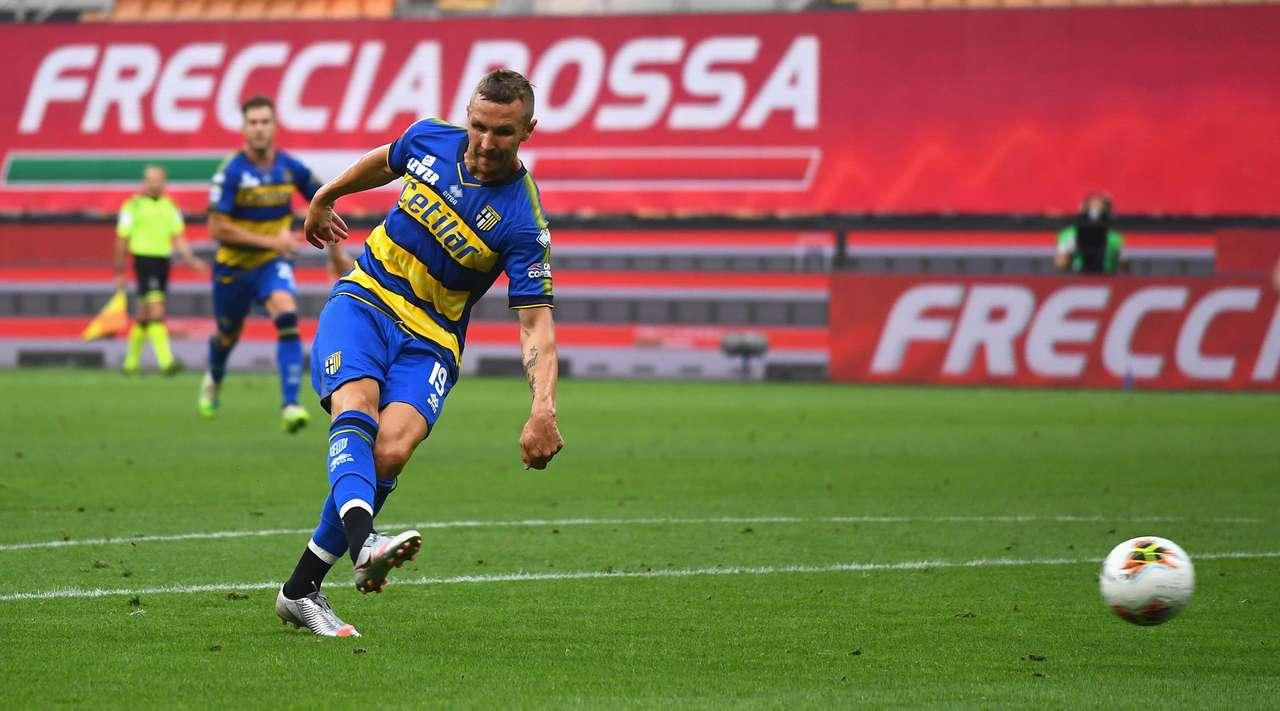 Il Milan rimonta il Parma a San Siro