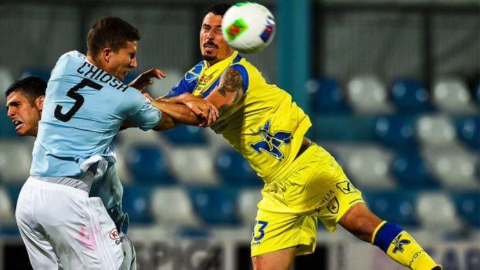 Il Chievo ha pareggiato 1-1 contro l'Entella nella 32a giornata di Serie B.