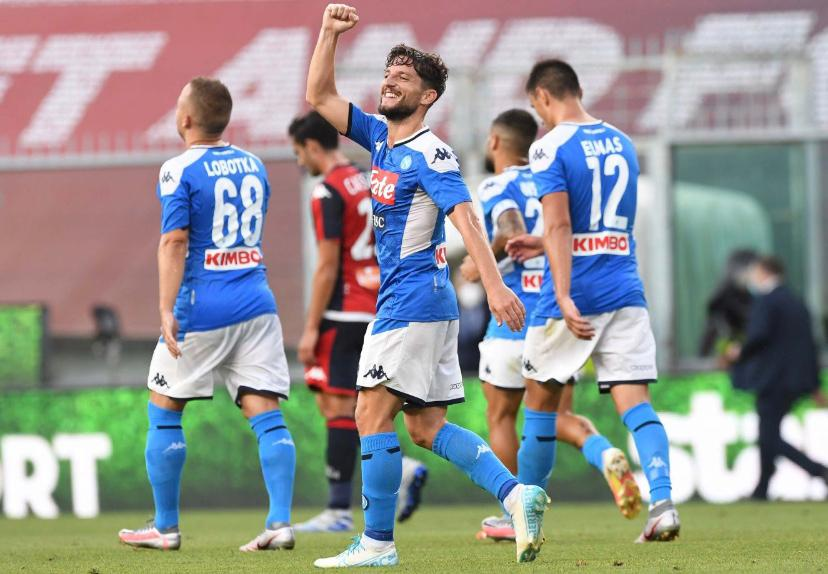 Genoa Napoli 1 2 Tabellino E Marcatori Serie A