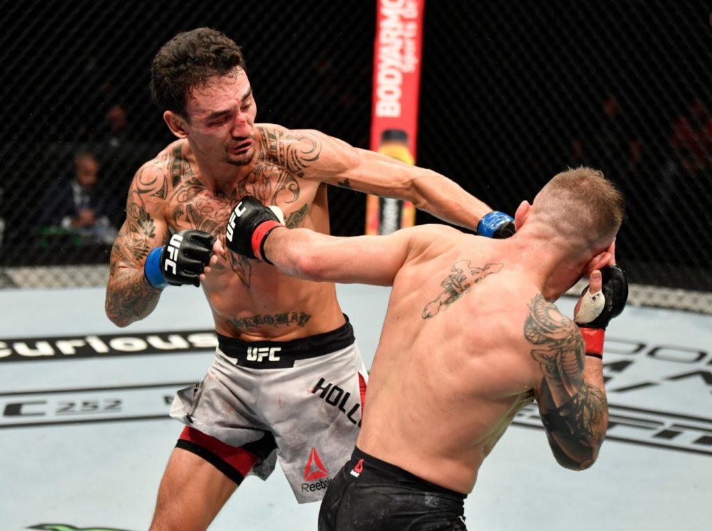 UFC Dustin Poirier - Max Holloway