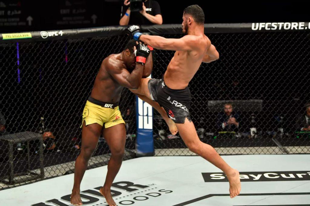 UFC Fight Island I - Mounir Lazzez
