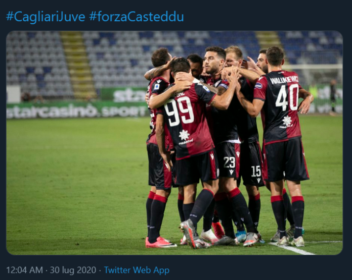 Cagliari-Juventus 2-0