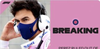Perez positivo al Coronavirus! Hulkenberg al suo posto