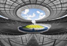 foto dello stadio olimpico dove giocano le squadre della serie a