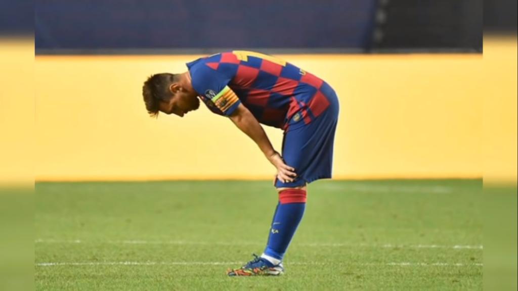 Messi - Dopo il tracollo con il Bayern