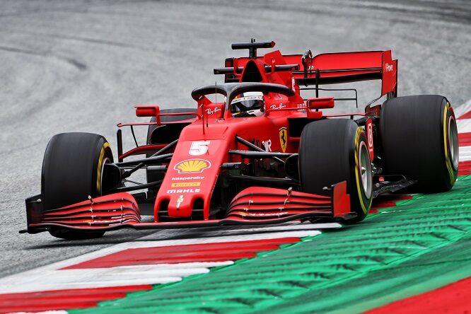 Vettel, nuovo telaio a Barcellona