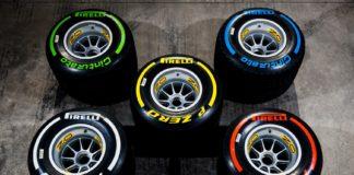 i pneumatici Formula 1 Pirelli
