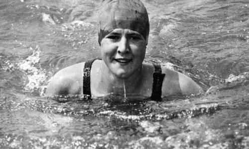 Gertrude Ederle, la nuotatrice che attraversò la Manica