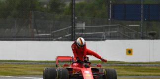 Silverstone 2020, rottura del motore per Vettel