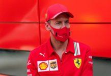 """Vettel: """"Rimango in Ferrari fino a fine anno"""""""