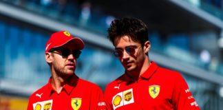 Dichiarazioni piloti Ferrari post GP Belgio 2020