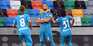 Lo Spezia soffre ma passa a Udine: Galabinov match winner