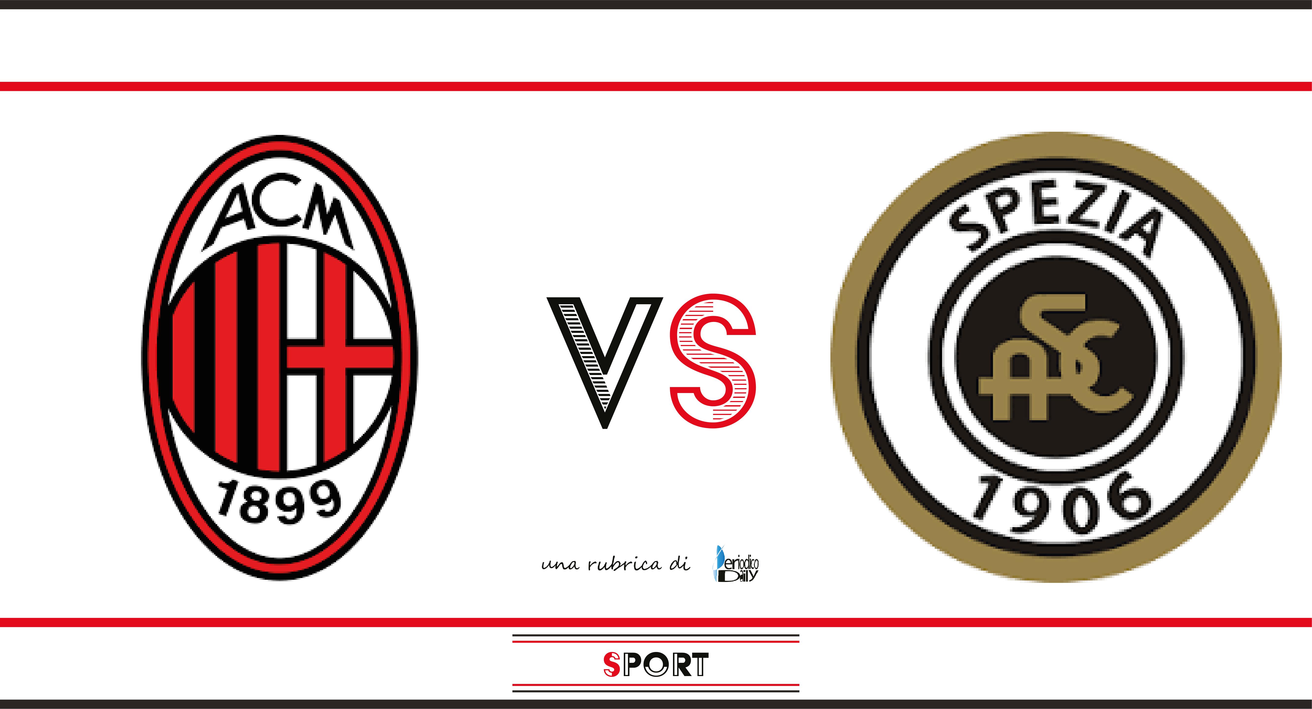 Pronostico Di Milan Spezia 3a Giornata Di Serie A Periodicodaily Sport