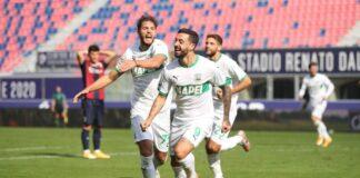 Bologna-Sassuolo 3-4