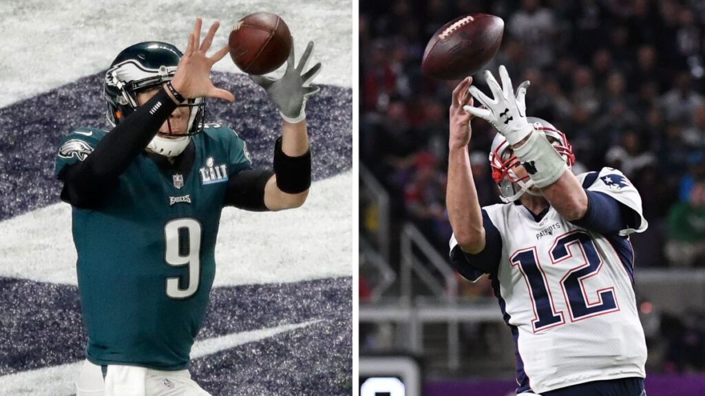 Nick Foles vs Tom Brady, Super Bowl LII Minneapolis