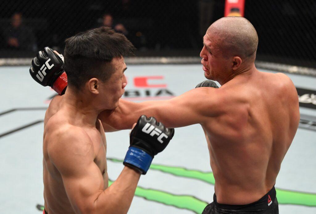 UFC - Brian Ortega Vs The Korean Zombie
