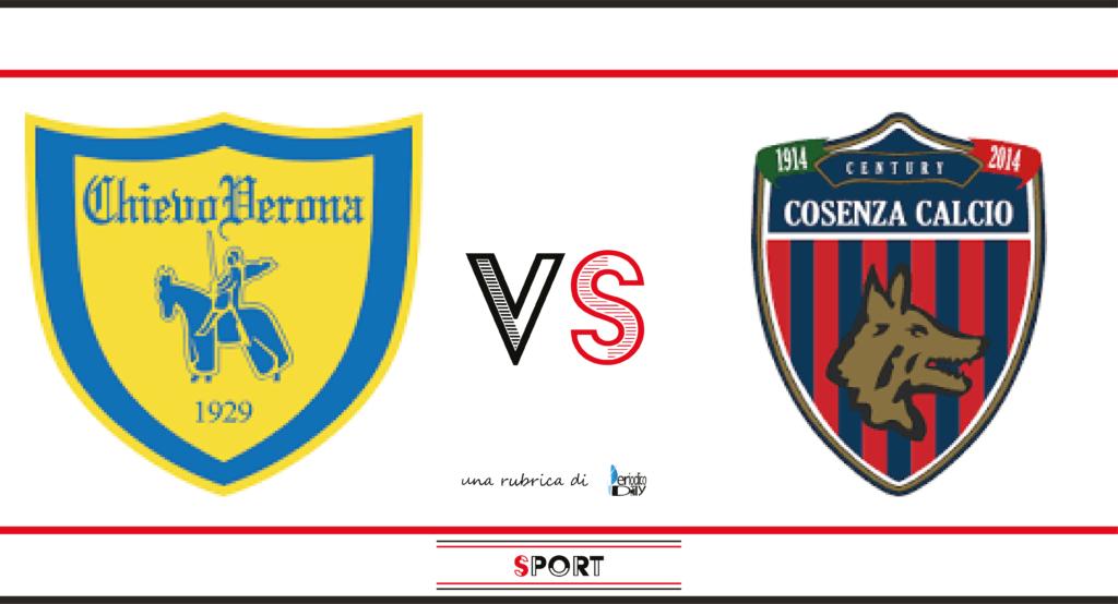 Il pronostico di Chievo-Cosenza, 6a giornata di Serie B.