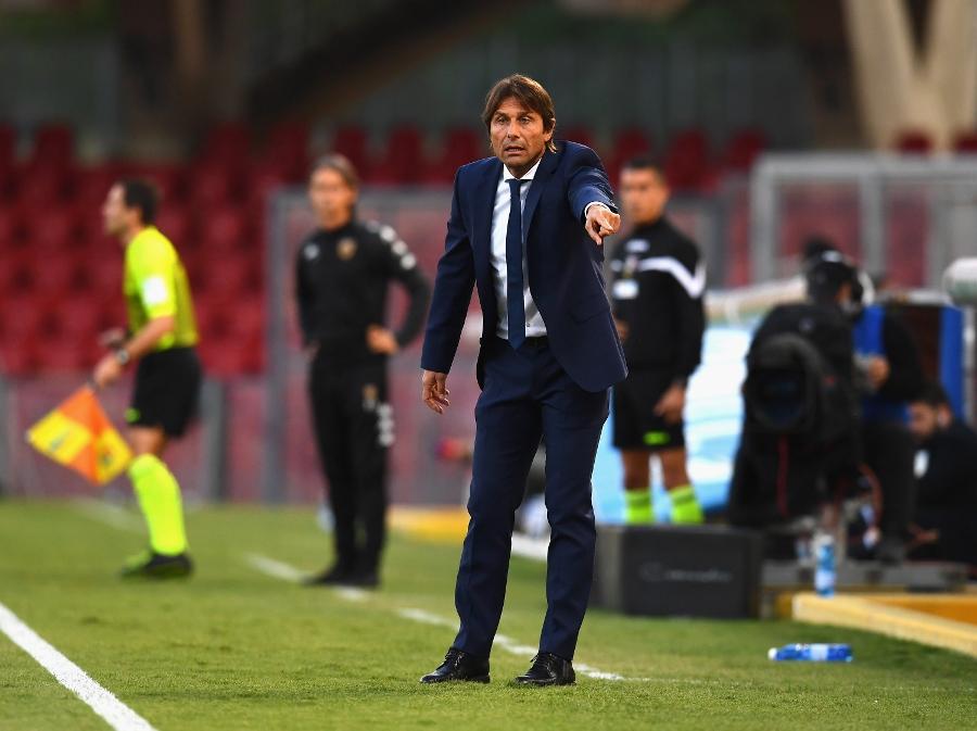 Antonio Conte, le parole del tecnico post Benevento