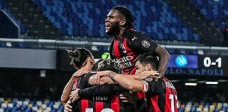 Napoli-Milan 1-3