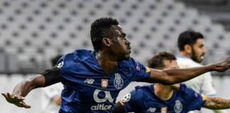 Olympique Marsiglia-Porto 0-2