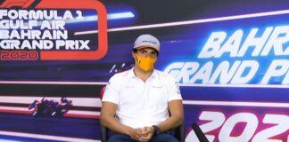 Conferenza piloti Gp Bahrain