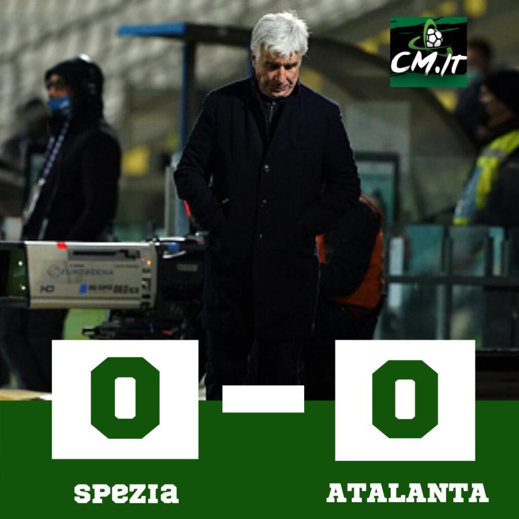 Spezia-Atalanta- 0-0 |  la Dea fermata dai pali